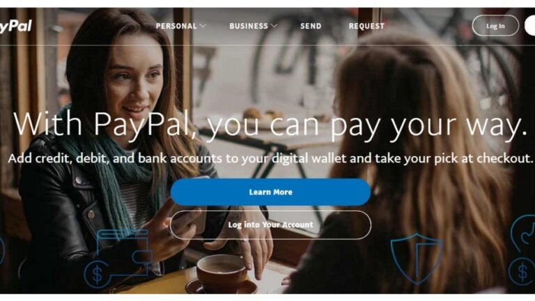 Create and setup a Paypal account to send and receive payments