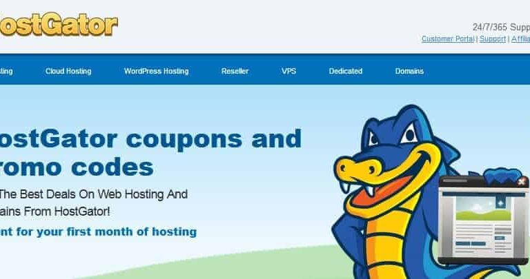Latest Hostgator promo codes and coupons, 1 cent for your first month of hosting