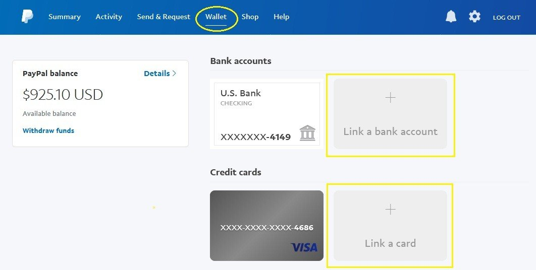 Create and setup a PayPal account to send and receive payments - Oh