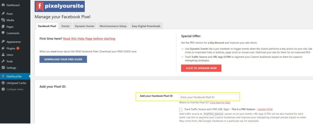 FB Pixel WP Plugin