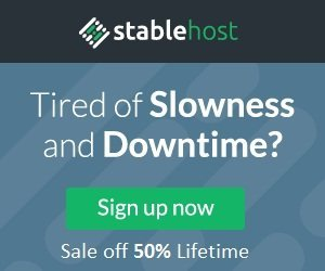 Stablehost Coupons - Best Hosting in 2018
