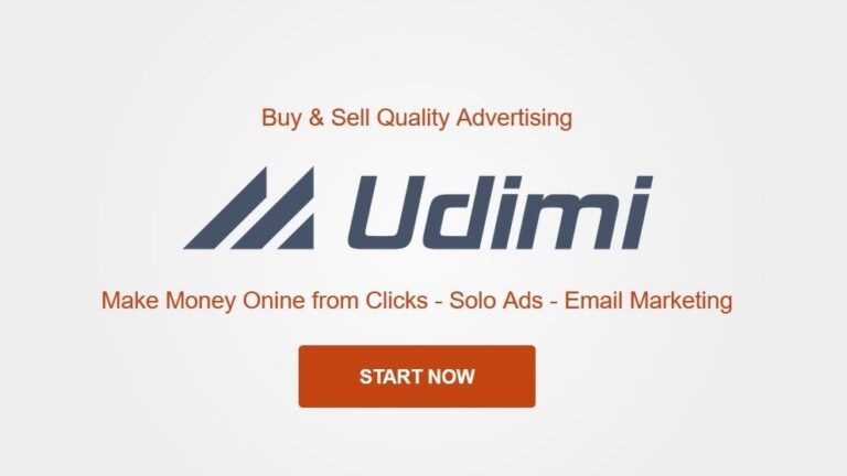 Making Money with Udimi (Earn Online from Clicks)