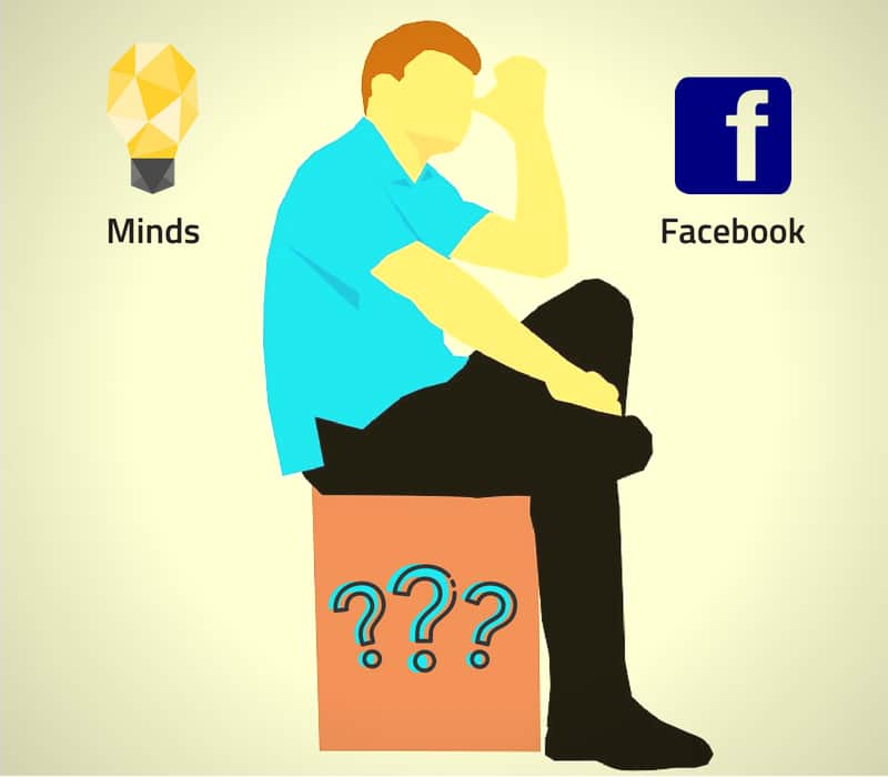 Minds or Facebook Thinking
