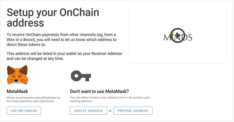 Setup Onchain Address Minds