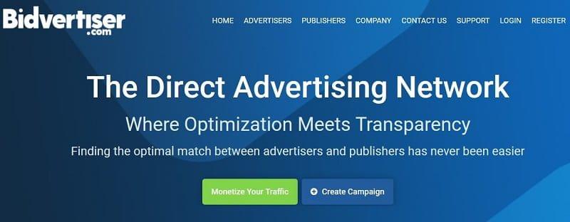 Bidvertiser Ad Network