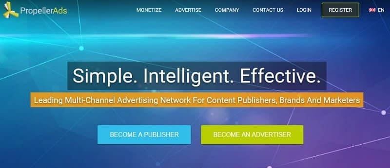 Propeller Ads Ad Network