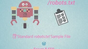 The Standard robots.txt Sample File for WordPress (Secure & SEO)