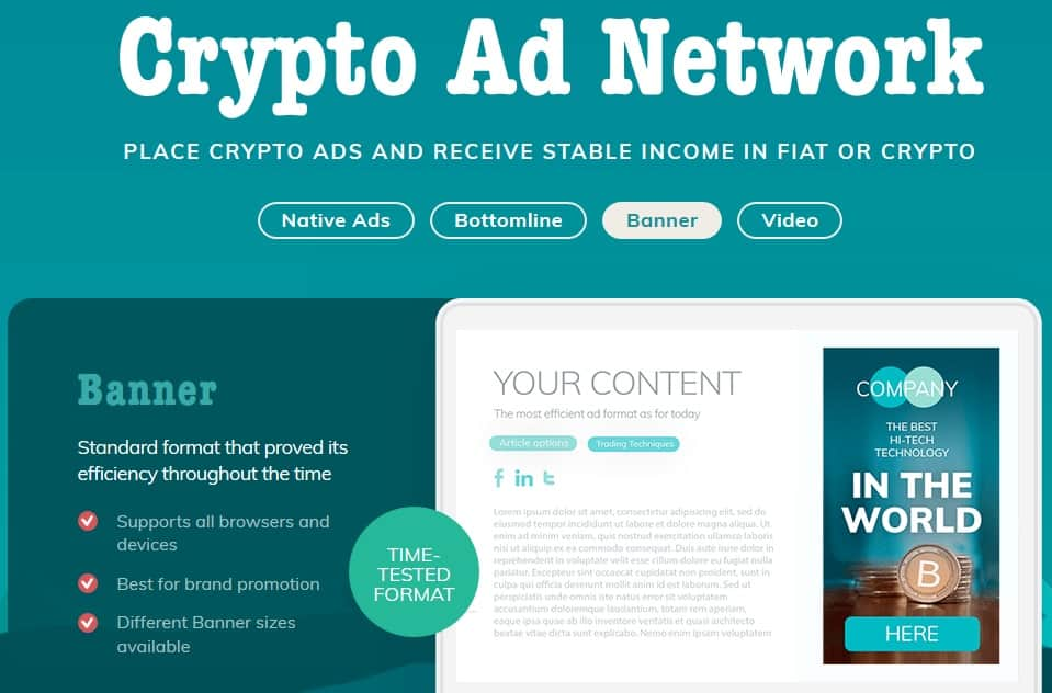 TokenAd Ad Network