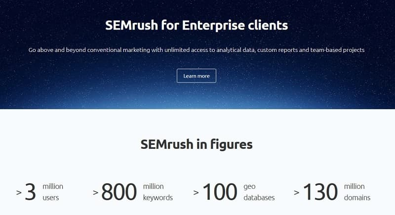 Spy on your competition with SEMrush tools