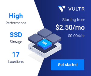 Get $100 Free from Vultr to accelerate your website and application